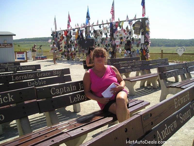 This is a trip to the site of the flight 93 plane crash on 9/11.