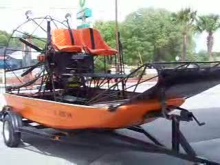 Cool Airboat I saw at gas station along the way from:DotComd